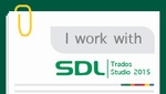 I work with SDL Trados Studio 2015